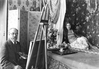 Henri Matisse, 1913, foto Alvin Langdon Coburn. (obr. 1)