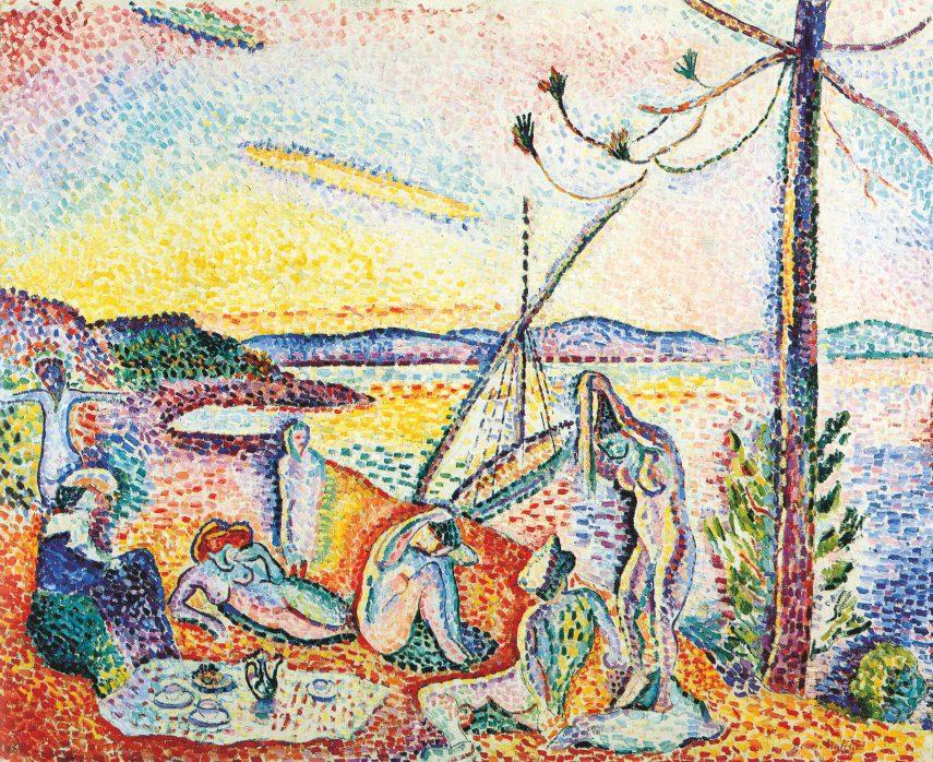 Přepych, klid a rozkoš, 1904/5, olej na plátně, 98,5 × 118 cm, Musée d'Orsay, Paříž. (obr. 4)
