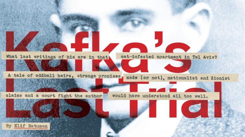 Obálka knihy Banjamina Balinta Kafkův poslední proces.