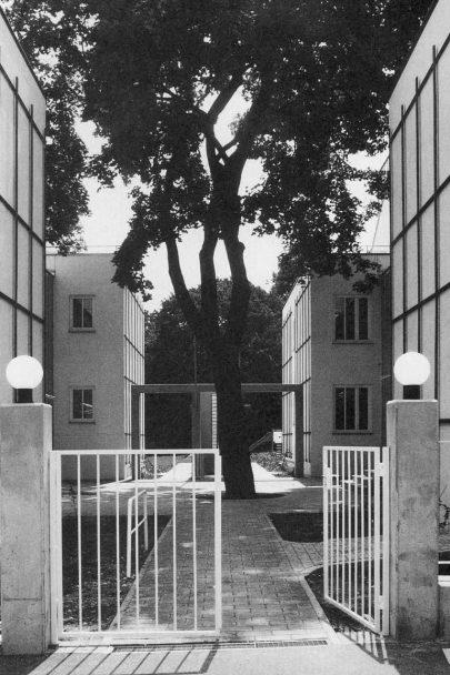 Městské nájemní vily, Gatterburggasse, Vídeň, 1985–1989.