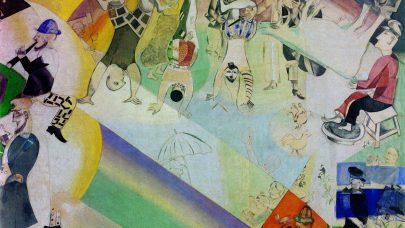 Na zelených koních Marka Chagalla