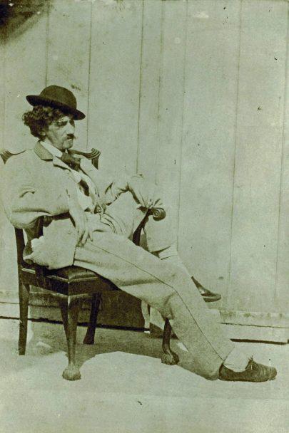 James Abbott McNeill whistler, 1860, autor fotografie neznámý, (obr. 12)