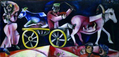 IV. Obchodník s dobytkem, 1912, olej na plátně, 97 × 200,5 cm, Kunstmuseum Basel, Bazilej. Repro: https://en.wikipedia.org.