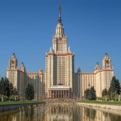 Lev V. Rudnev, Moskevská státní univerzita M. V. Lomonosova, 1949–1953. Zdroj: Moscow State University ranked in top 100 universities, RusBase (online), 12. 3. 2013. (Obr. 13)
