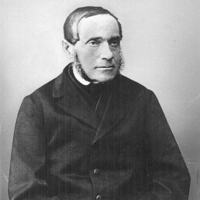 (Fotografie Adalberta Stiftera z roku 1868.)