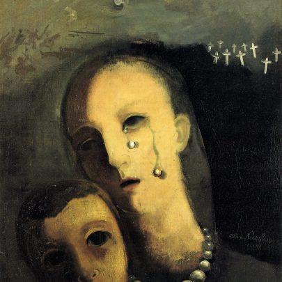 Perly, 1938, olej na plátně, 61 × 50 cm, soukromá sbírka. (obr. 9)