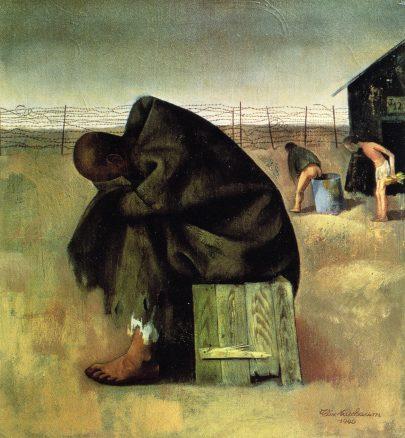 Vězeň, 1940, olej na plátně, 47 × 42,5 cm, Deutsches Historisches Museum, Berlín. (obr. 11)