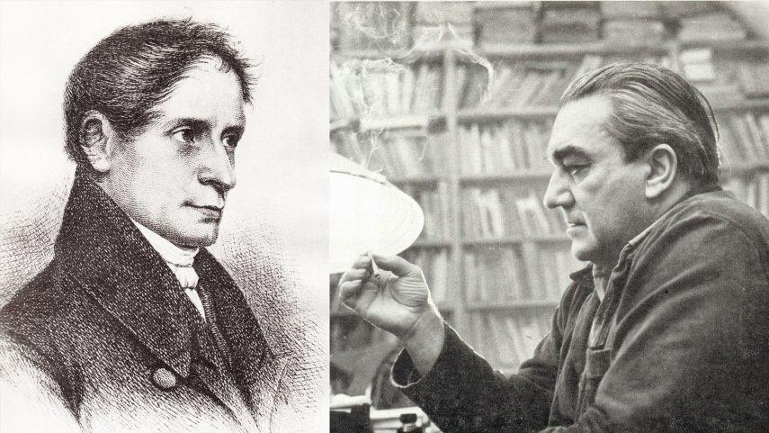 Joseph von Eichendorff (1788-1857) a Vladimír Holan (1905-1980).