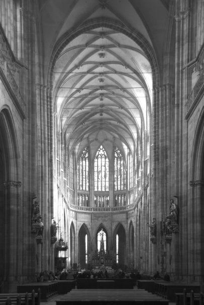 Katedrála svatého Víta, Václava a Vojtěcha v Praze. Repro: https:// commons.wikimedia.org/w/index.php?curid=1350193. (obr. 1)