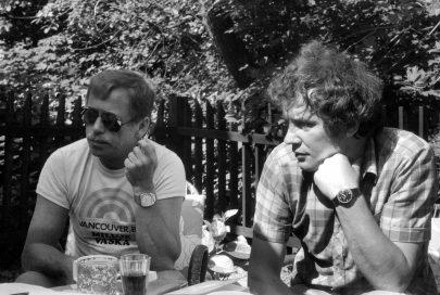 Martin Palouš s Václavem Havlem.
