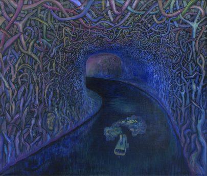 Srdce temnoty, 2012, olej na plátně, 170 × 200 cm.