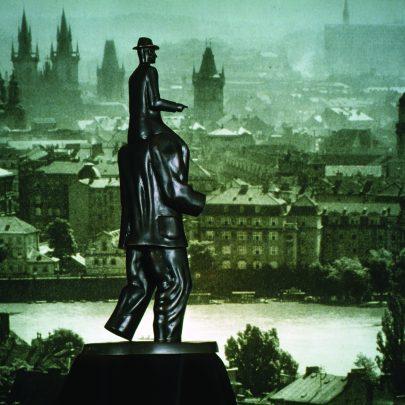 Model pomníku Franze Kafky, 2000.