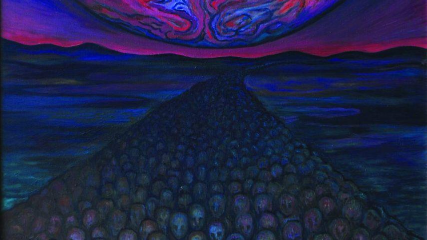 Exodus, olej na plátně, 2005, 170 × 150 cm.