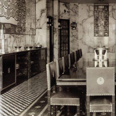 Palác Stoclet: jídelna s částí vlysu.
