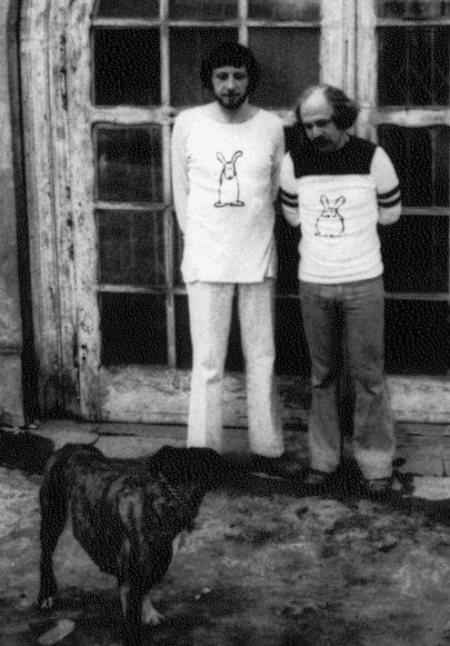 Jan Vodňanský a Petr Skoumal. Foto: Archiv J. V.