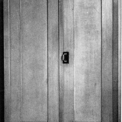 Skříň navržená Adolfem Loosem do bytu Gustava Turnovského, 1902, javor s mosazným kováním, Musée d'Orsay, Paříž. Repro: Long (2019), s. 103. (obr. 20)