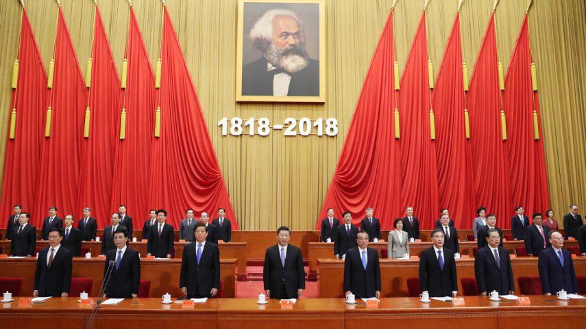 Konference k dvoustému výročí narození Karla Marxe v Pekingu. Foto Sin-chua / Ju Peng.