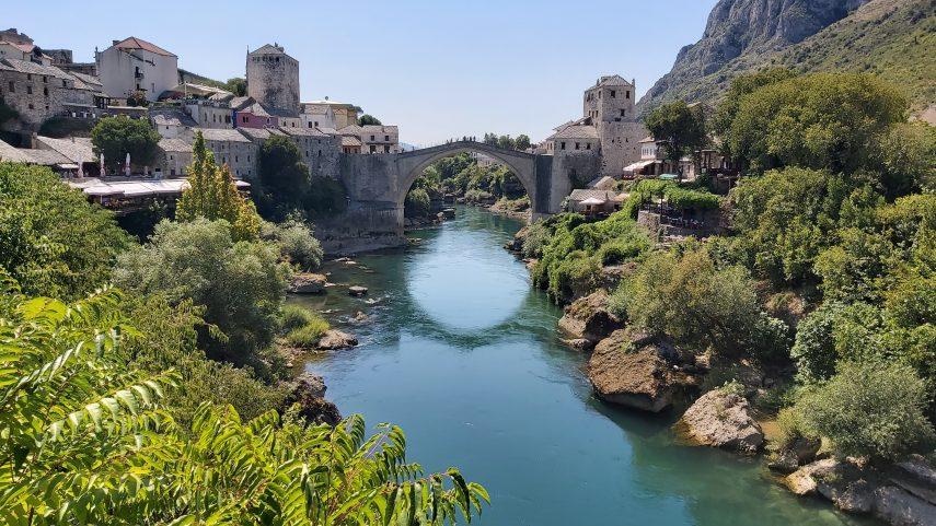 Mostar. Foto Wikimedia Commons.