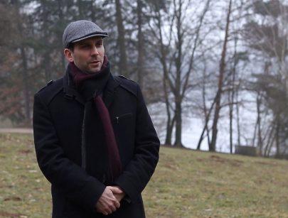 Martin Flašar. Foto MUNI TV.