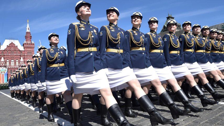 Vojenská přehlídka v Moskvě ke Dni vítězství, 2018. Foto kremlin.ru, Wikimedia Commons.